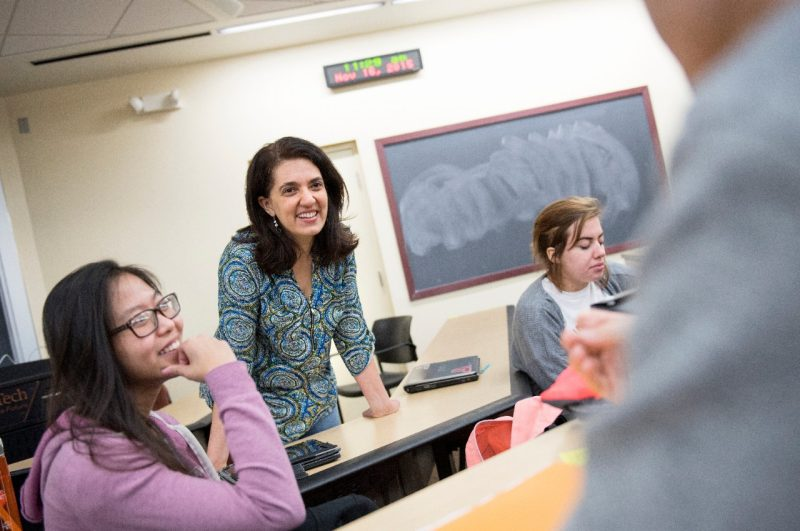 Doctoral student Najla Mouchrek is pursuing an Individualized Interdisciplinary Ph.D. at Virginia Tech